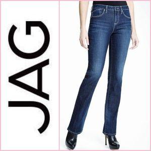 Jag Jeans Barton Mid Rise Boot Leg Denim Jeans